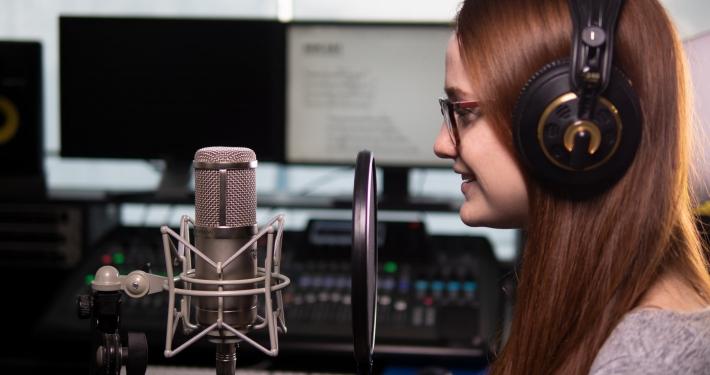 Gesang, Voice, Sprecher, Aufnahme, Tonstudio